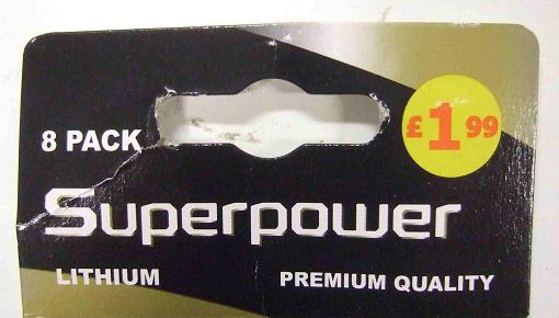 8 superpowers for £ 1.99. I'd call that a good deal.